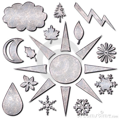 Weather Icons Metal