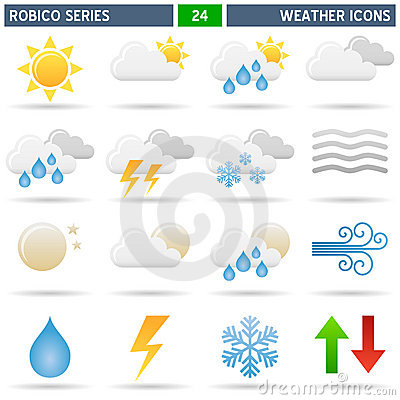 Weather Icons - Robico Series