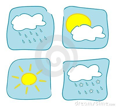 Weather icons - Set 1.