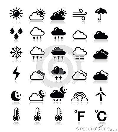 Weather icons set -