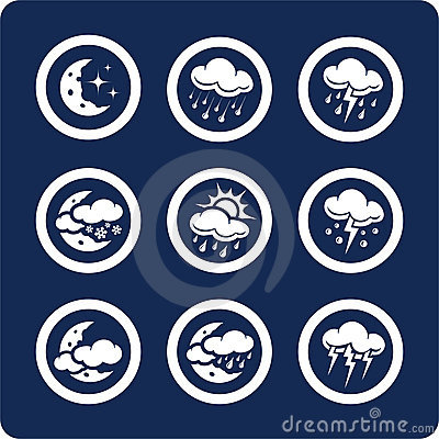 Weather icons (set 7, part 2)