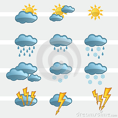 Weather Icons Signs