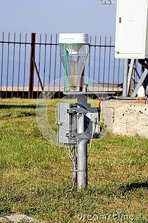 Weather installation of equipment