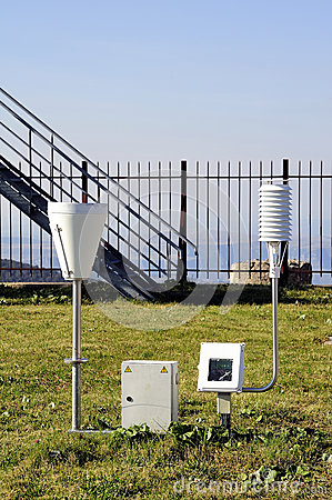 Weather installation of equipment