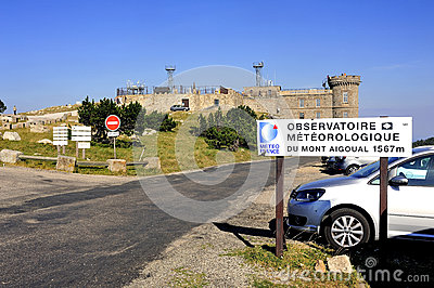 Weather observatory Editorial Stock Image