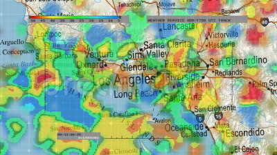 Weather Radar Digital Satellite Map