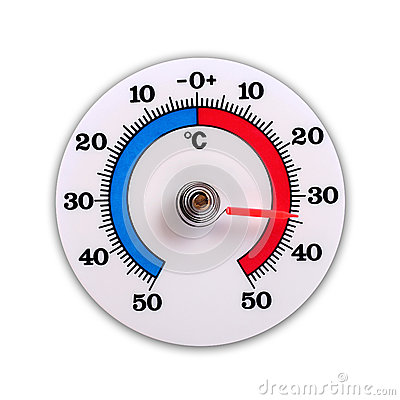 Weather thermometer