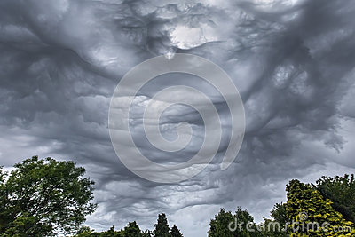 Weather - Thunderstorm Clouds - Meteorology
