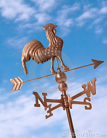 Free Weather Vane Stock Image - 1075091