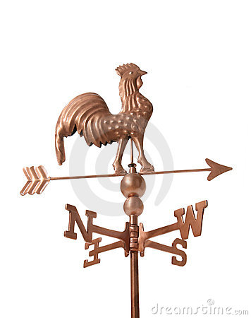 Free Weather Vane Royalty Free Stock Photography - 1370047