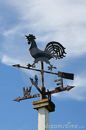 Free Weather Vane Royalty Free Stock Photography - 2539757