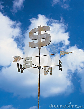 Free Weather Vane And Blue Sky Royalty Free Stock Photography - 18549557