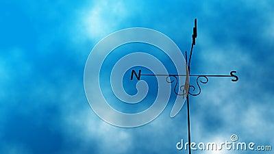 Weather Vane Change Loop Stock Footage - Video: 35374071