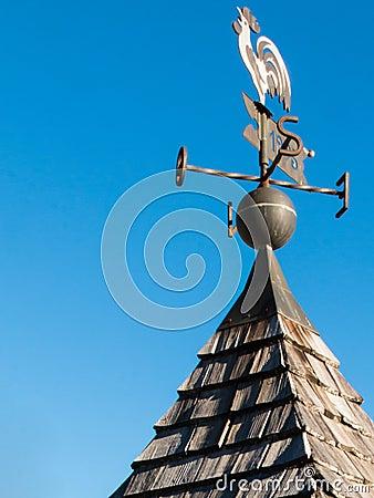 Free Weathercock, Weather Vane Wind Direction Decoration Royalty Free Stock Image - 56646856