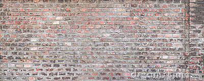 Weathered brick wall texture