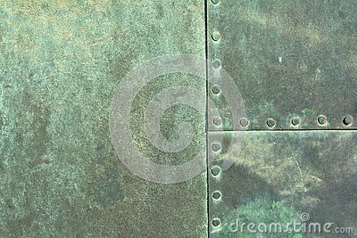 Weathered Copper Sheet Stock Photo - Image: 52055664