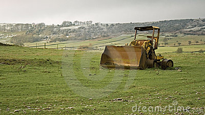 Weathered Digger on Hills