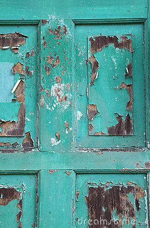 Weathered Door Stock Images - Image: 8252244