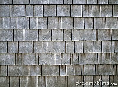 Weathered Shingle Siding Stock Image Image 26273991
