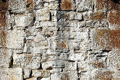 Weathered Stone Wall