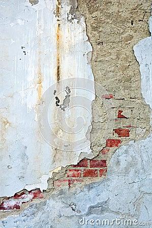 Weathered stucco wall