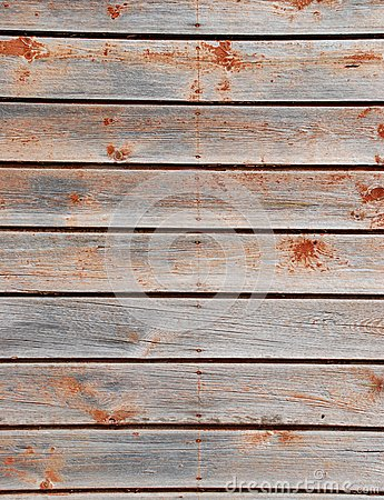Weathered, wooden planks