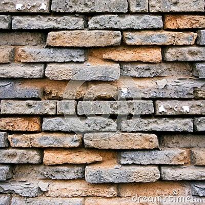 Weathering Brick wall