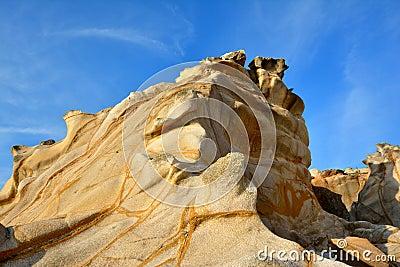 Weathering granite, Fujian, China