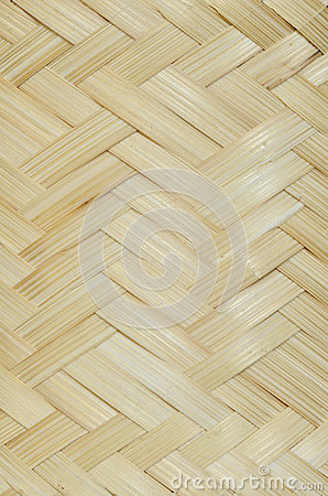 Weave bamboo
