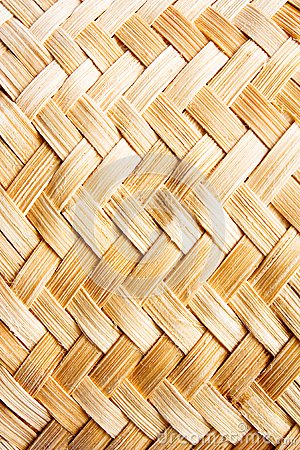 Weave handmade natural asian background
