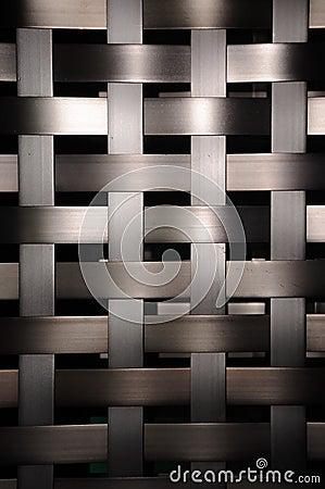 Weave metal texture