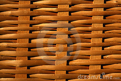 Weave pattern of a basket