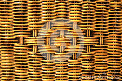 Weave rattan texture