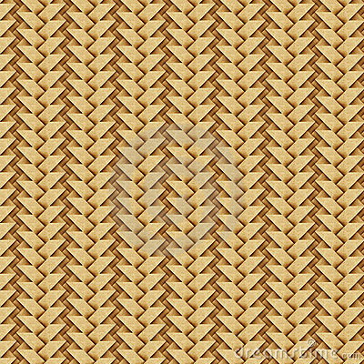 Weave recycled paper craft