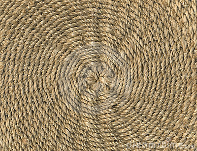 Weave of straw