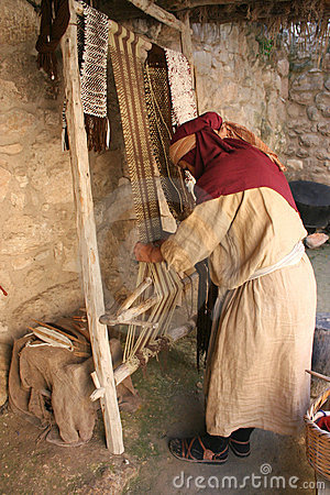 Weaving fabric, Israel