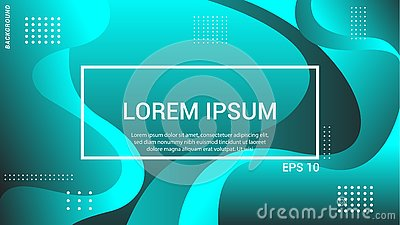 Futuristic design landing page. Eps10 . abstract background. banner background. Stock Photo