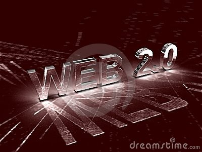 Web 2.0 Photographie stock - Image: 17135282