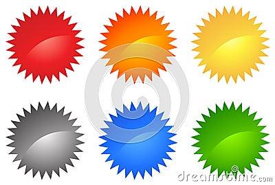 Web 2.0 Colored Set