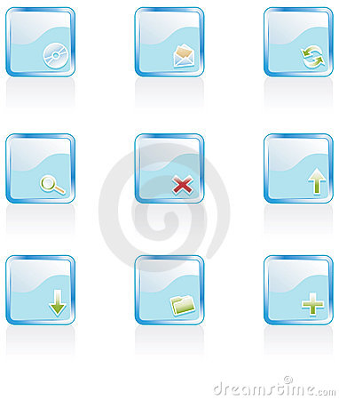 Free Web 2.0 Icons Royalty Free Stock Images - 2914899