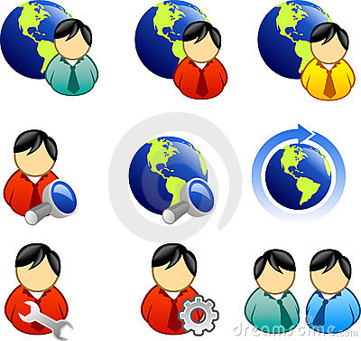 Free Web And Internet Icon Royalty Free Stock Photos - 2292848