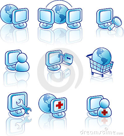 Free Web And Internet Icon Stock Image - 692981