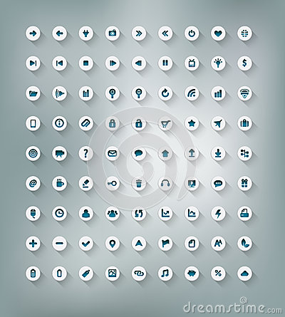Free Web And Office Icon Set Stock Photos - 28515113