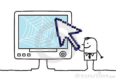 Web & arrow