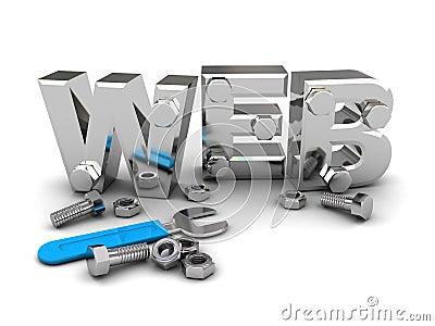 Web-Aufbau