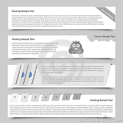 Web Banners and Sliders