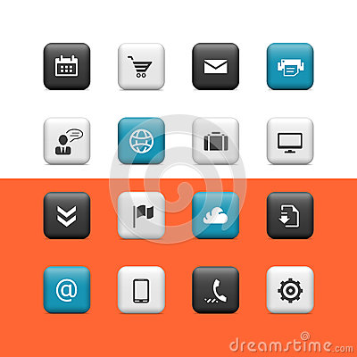 Web and blogging buttons