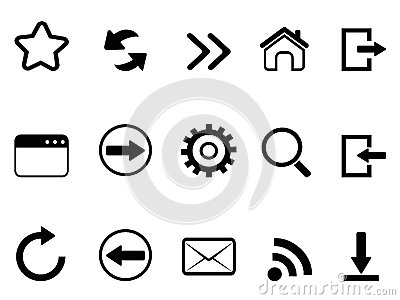 Web browser tools icon