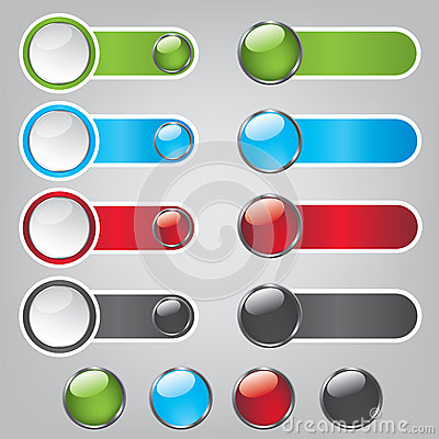 Web bubble icons
