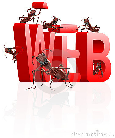 Web building website under construction